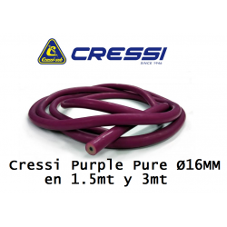 8435266971702 CRESSI PURPLE PURE 16MM METROS adcsportshop.com