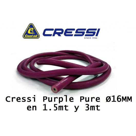 8435266971702 CRESSI PURPLE PURE 16MM METROS adcsportshop.com