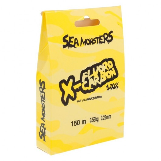 SEA MONSTERS X-LINE FLUOROCARBONO adcsportshop.com
