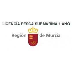 LICENCIA PESCA SUBMARINA DEPORTIVA