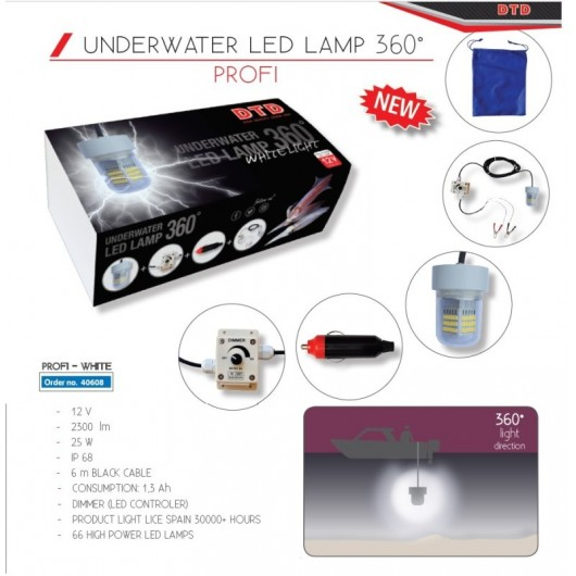 LED LAMP 360 WHITE DTD adcsportshop.com
