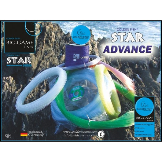 MADEJA STAR ADVANCE BLANCO 100MT GOLDEN FISH