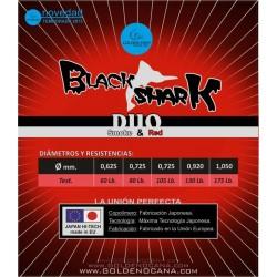 NYLON BLACK SHARK DUO GOLDEN FISH