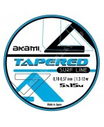 TAPERED SURF LINE CLEAR AKAMI adcsportshop.com