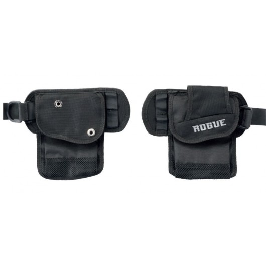 AQUALUNG CORREAS CINTURA ROGUE BLAK adcsportshop.com