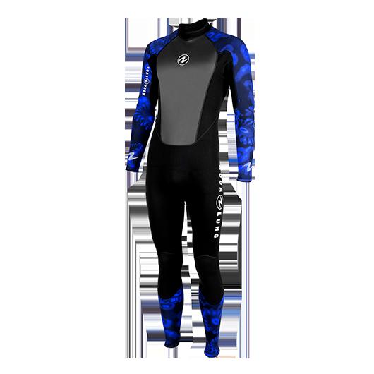 AQUALUNG HYDROFLEX CAMO BLUE MAN 3MM adcsportshop.com