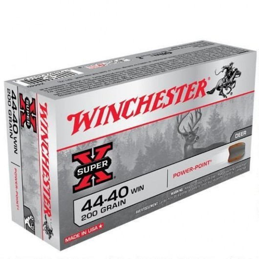 020892201132 WINCHESTER 44-40 WIN 200GRS POWER POINT adcsportshop.com