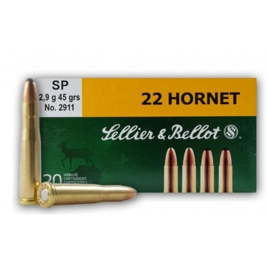 8590690330010 SELLIER BELLOT 22 HORNET SP 45 GRS adcsportshop.com