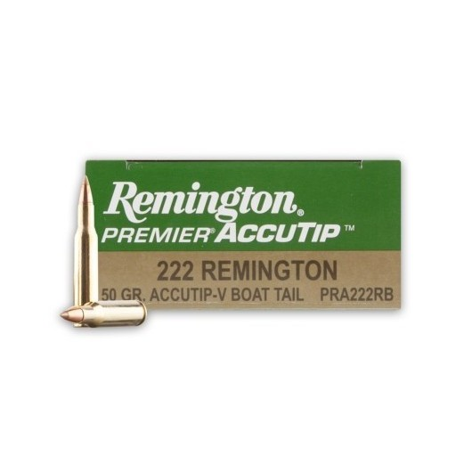 0477003660302 REMINGTON 222 REMINGTON ACCUTIP-V BOAT TAIL 50GRS adcsportshop.com