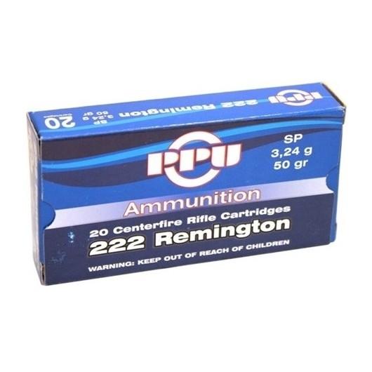 8605000380026 PRVI PARTIZAN 222 REMINGTON SP 50GRS adcsportshop.com
