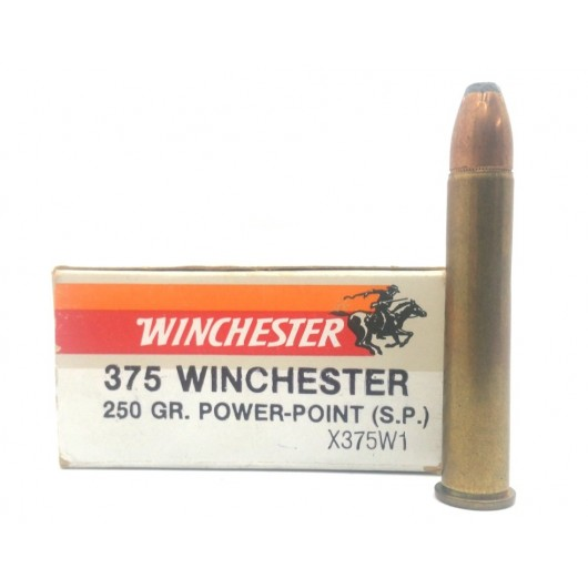 X375W1 WINCHESTER 375 WINCHESTER POWER POINT SP 250GRS adcsportshop.com