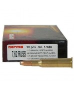 7393923175553 NORMA 7.62 RUSS SP ALASKA 180GRS adcsportshop.com