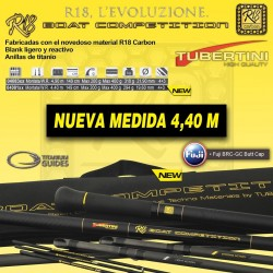 CAÑA R18 BOAT COMPETITION 4.40MT TUBERTINI adcsportshop.com