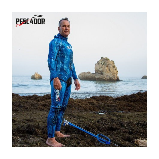 TRAJE PESCADOR BLUE CAMU 3MM
