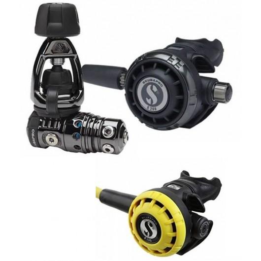 SCUBAPRO MK25 EVO G260 BLACK TECH R190 OCTO