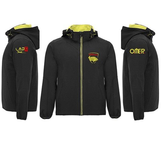 CHAQUETA SOFT SHELL CLUB ADC 2020