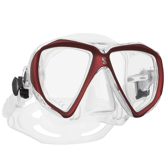 SCUBAPRO SPECTRA SIL. CLEAR RED