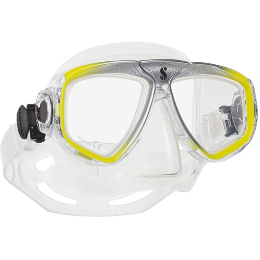 SCUBAPRO ZOOM EVO SIL. CLEAR YELLOW