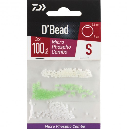 PERLAS MICRO BEADS EM KIT 3 COLORES DAIWA