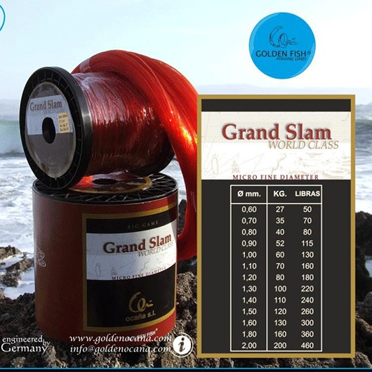 GRAND SLAM 500M GOLDEN FISH