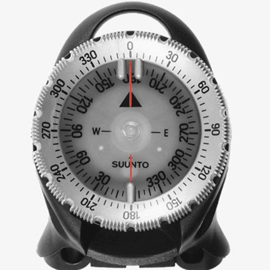 SUUNTO SK-8 COMPASS ON TOP OF COMBO (CB) / COBRA CONSOLE NH