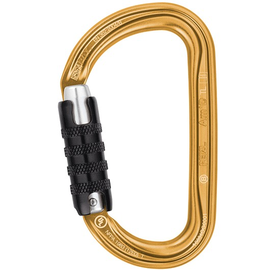 PETZL AM´D TRIACT-LOCK DORADO