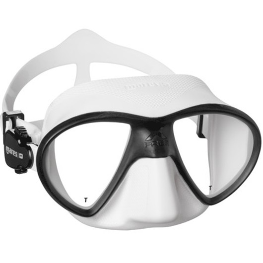 MARES X-FREE WHITE BLACK