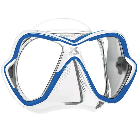 MARES X-VISION BLUE WHITE/CLEAR