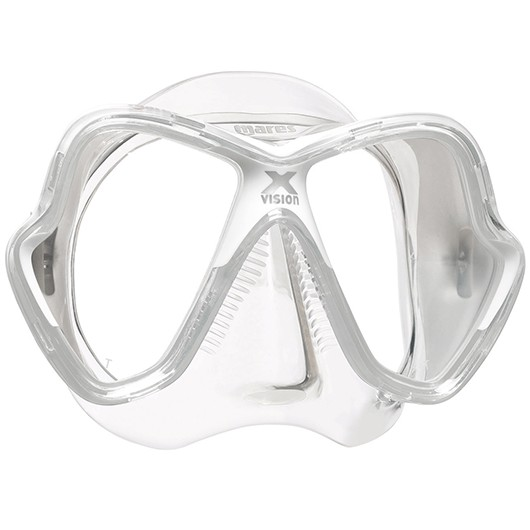 MARES X-VISION WHITE CLEAR / CLEAR