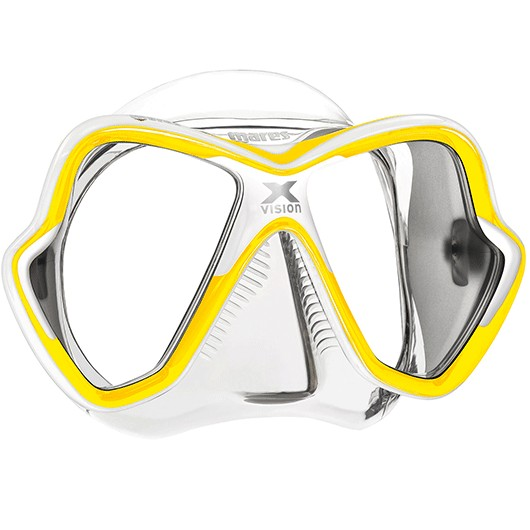MARES X-VISION YELLOW WHITE / CLEAR