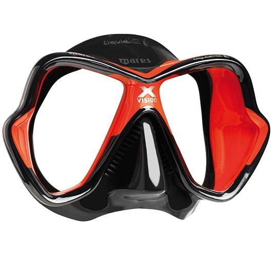 MARES X-VISION ULTRA LIQUIDSKIN RED BLACK