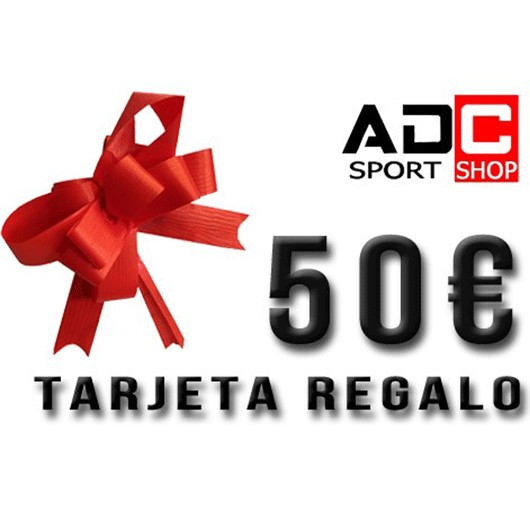 TARJETA REGALO ADC 50€