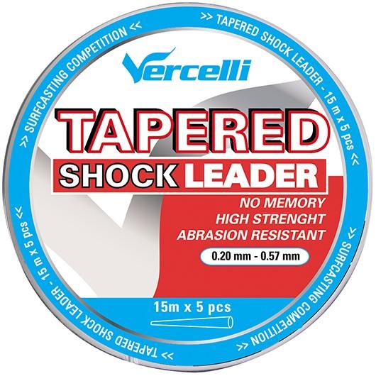 TAPERED SHOCK LEADER TRANSPARENTE VERCELLI