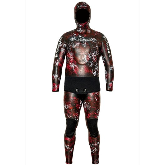 PICASSO THERMAL SKIN RED CAMO 7MM