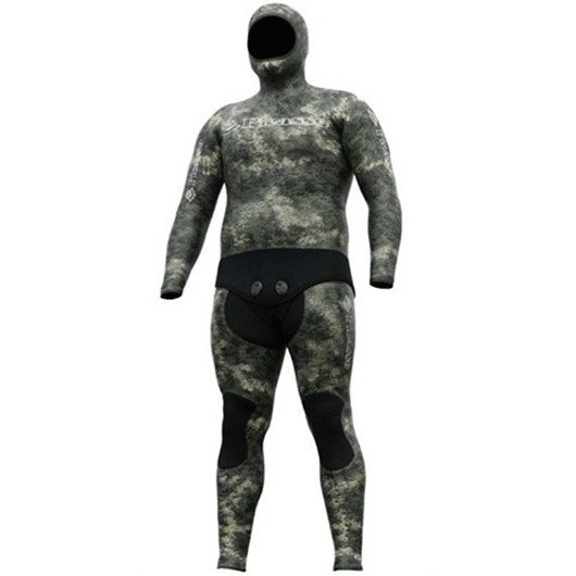 PICASSO THERMAL SKIN GREEN CAMO 7MM