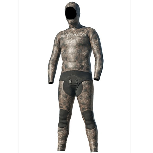 PICASSO THERMAL SKIN BROWN CAMO 5MM