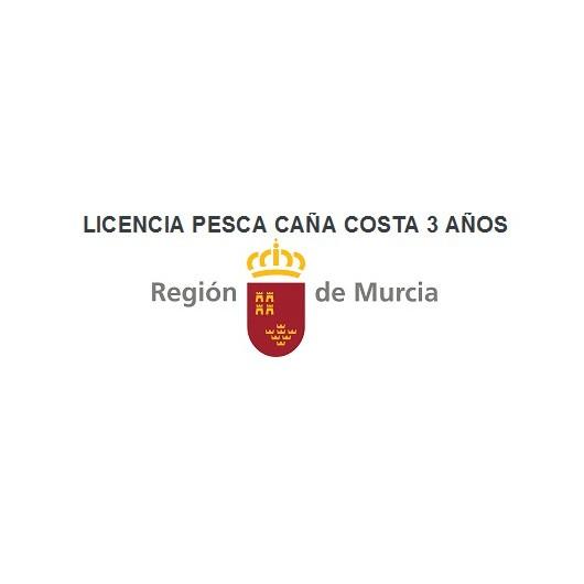 LICENCIA PESCA CAÑA MARÍTIMA DEPORTIVA COSTA