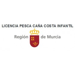 LICENCIA PESCA CAÑA DEPORTIVA COSTA INFANTIL