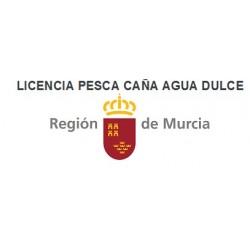 LICENCIA PESCA AGUA DULCE REG. MURCIA