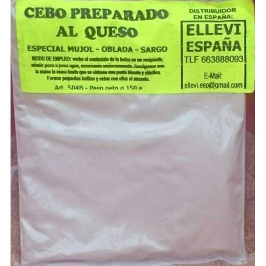 ELLEVI CEBO PREPARADO AL QUESO 150G