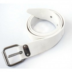 Cinturon ADC Marsellés Silicona blanco