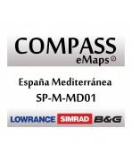 COMPASS EMAPS LARGE MAR Y EMBALSES MEDITERRANEO