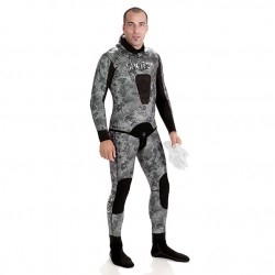 TRAJE SPETTON  BLACK  CAMO 3mm
