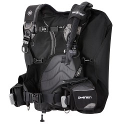 AQUALUNG DIMENSION BLACK BCD