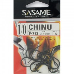 ANZUELO SASAME CHINU DARK BLACK F-713