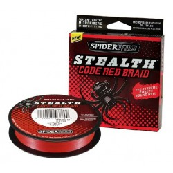 SPIDERWIRE STEALTH CODE RED 110MT