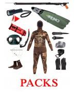 Packs y ofertas de pesca submarina