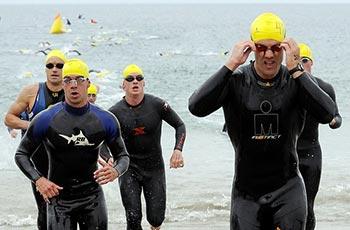 trajes de triathlon